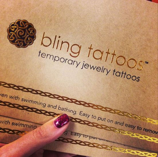 Bling Tattoo Envelope